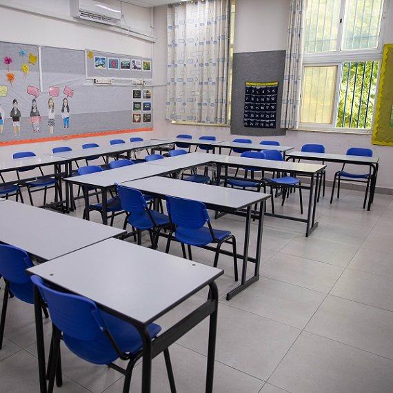 כיתות ריקות בסגר הקורונה
