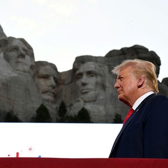 """נשיא ארה""""ב היוצא, דונלד טראמפ"""