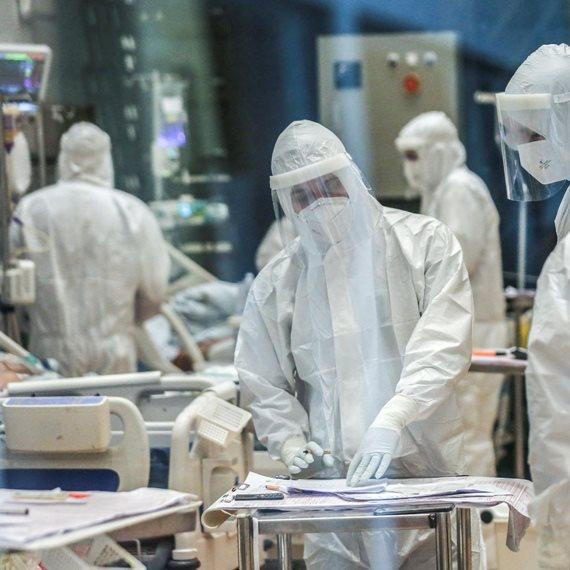 מחלקת קורונה בבית חולים