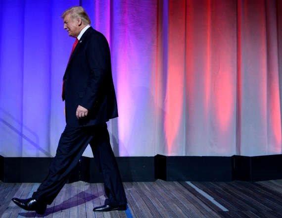 """דונלד טראמפ, נשיא ארה""""ב היוצא"""