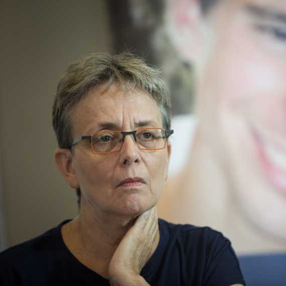 """לאה גולדין, אמו של סגן הדר גולדין ז""""ל"""