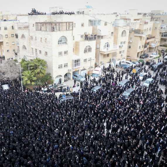 ההלוויה שנערכה אתמול (א') בירושלים