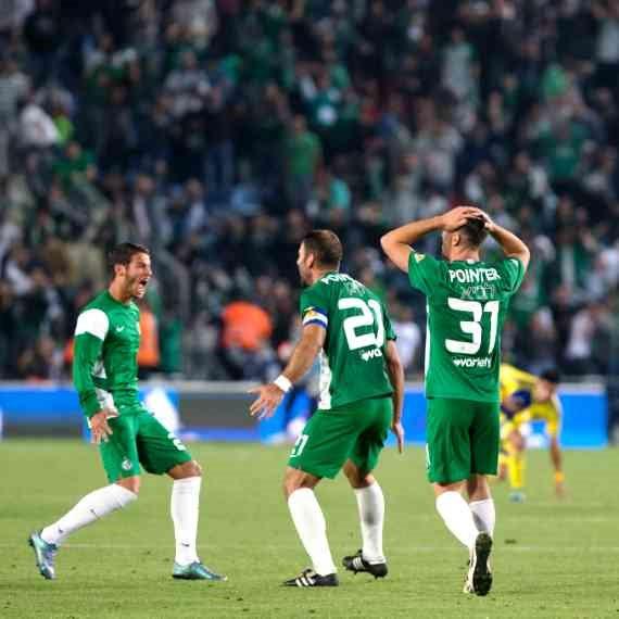 הקבוצה הירוקה הפסידה למ.ס אשדוד. מכבי חיפה