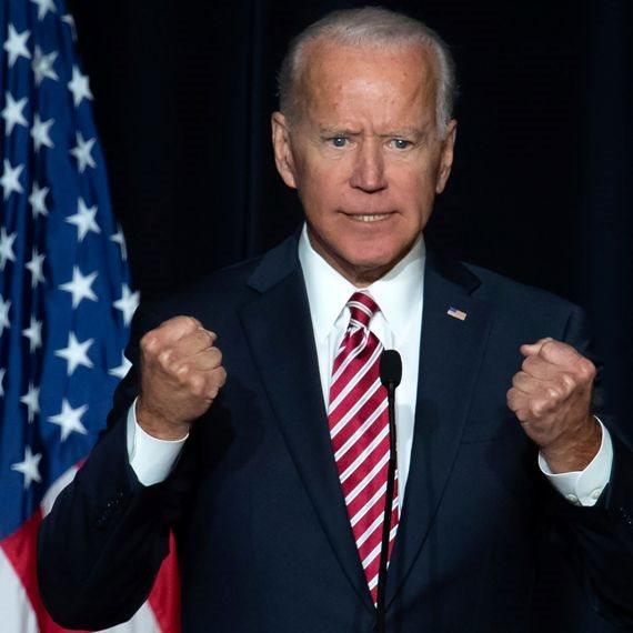 """ג'ו ביידן, נשיא ארה""""ב"""