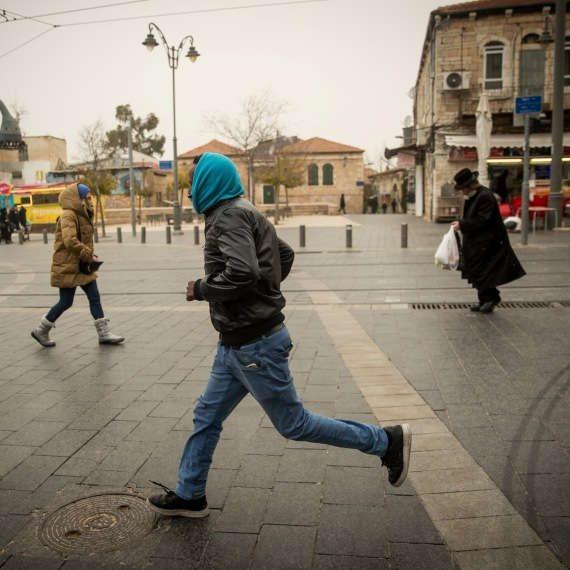 חורף בירושלים
