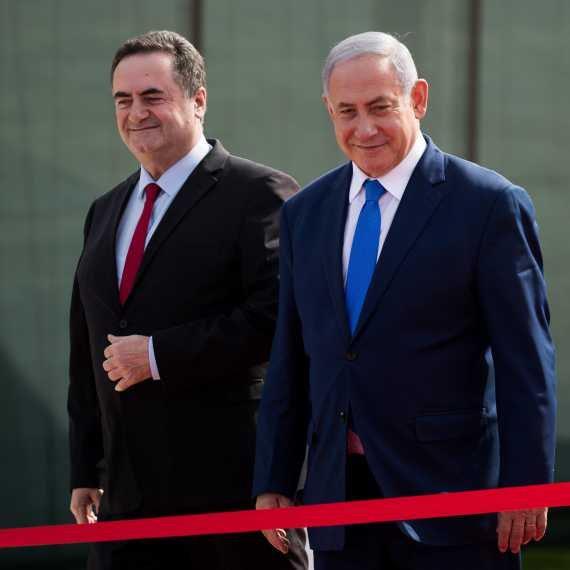 """ראש הממשלה בנימין נתניהו ושר האוצר ישראל כ""""ץ"""