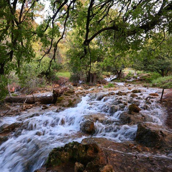 נחלים, זרימה, טבע וטיולים