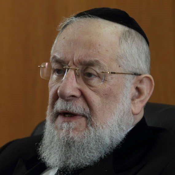 הרב ישראל מאיר לאו, ניצול בוכנוולד