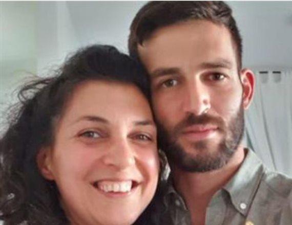 חנן ממן ואחותו אורית