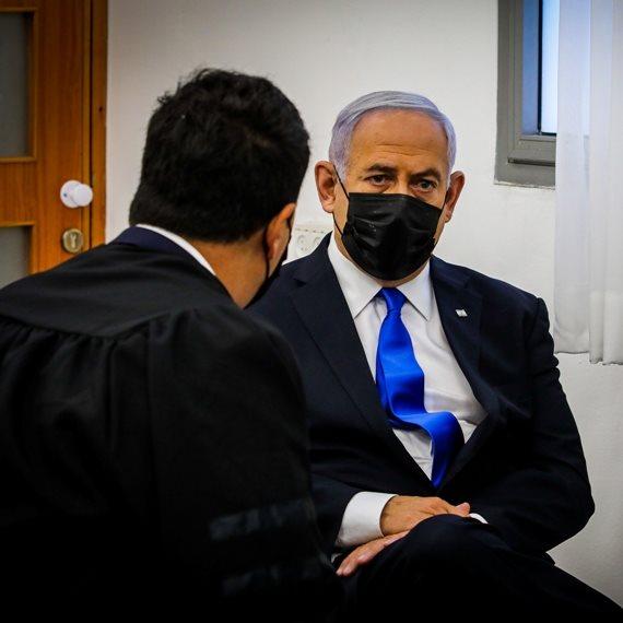 ראש הממשלה בנימין נתניהו בבית המשפט