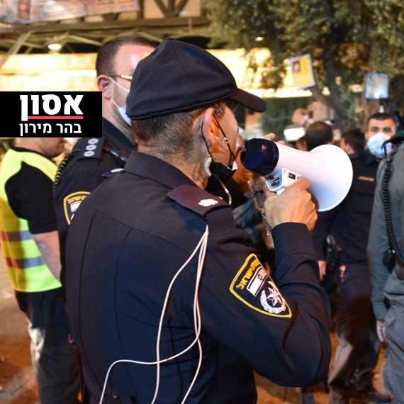 """מאזין: """"משטרת ישראל לא אשמה באסון"""""""