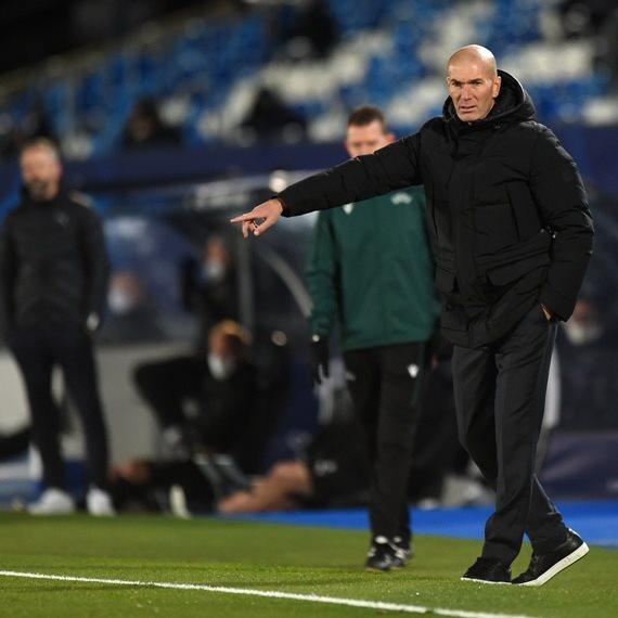 זינאדין זידאן מאמן ריאל מדריד