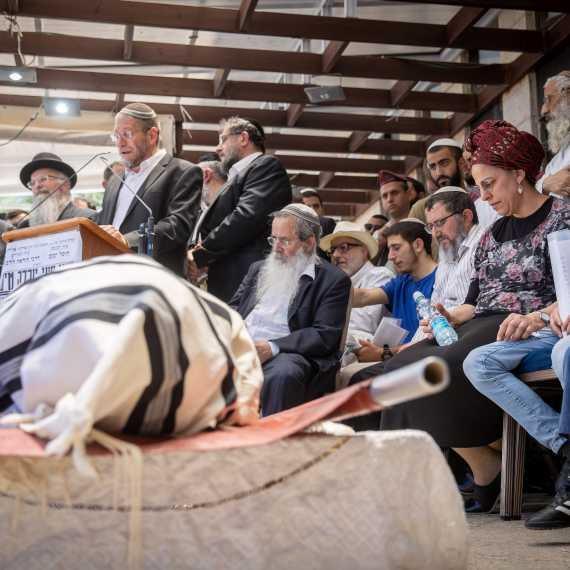 """הלווייתו של יהודה גואטה ז""""ל, היום (ה')"""