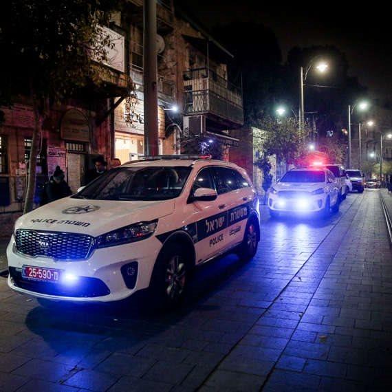 טיפול המשטרה בהתפרעויות ברהט. למצולם אין קשר לנאמר