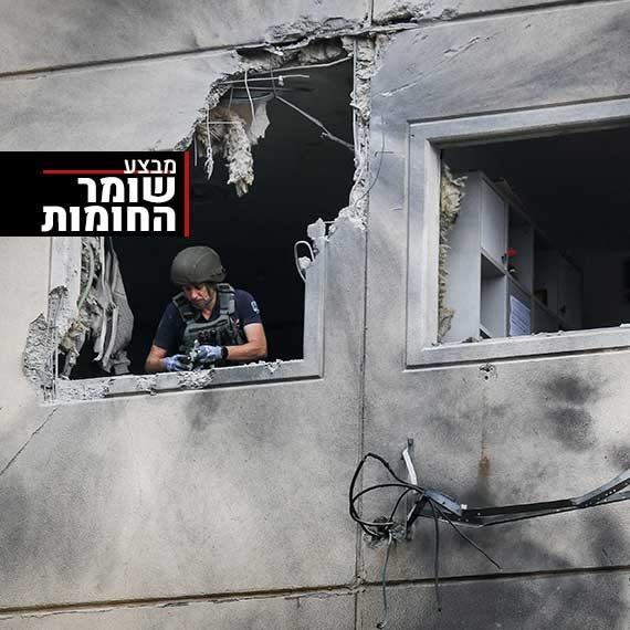 הרוגים ופצועים בעקבות פגיעות ישירות במבני מגורים באשקלון