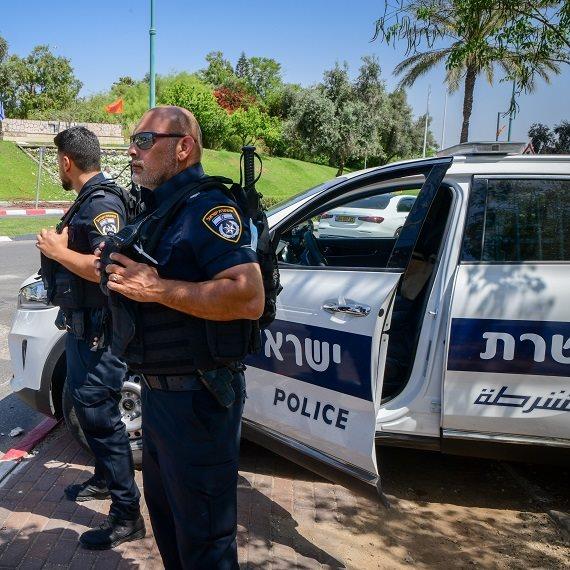 משטרת ישראל בפרעות בלוד