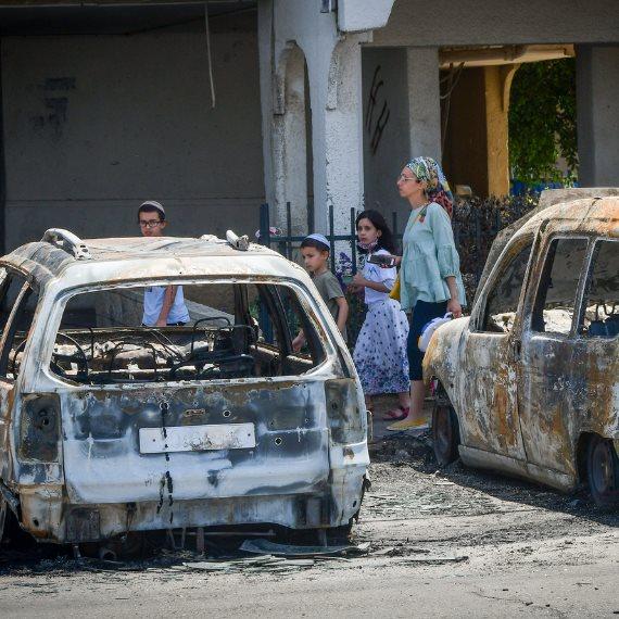 מהומות בלוד. למצולם אין קשר לנאמר
