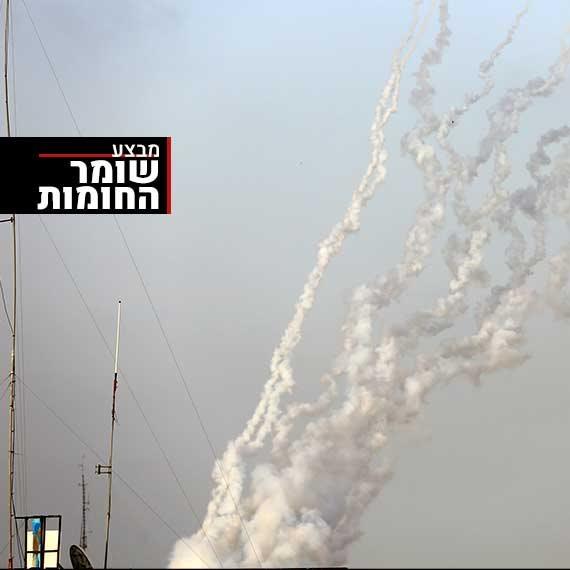 ירי רקטות לכיוון ישראל. למצולם אין קשר לנאמר