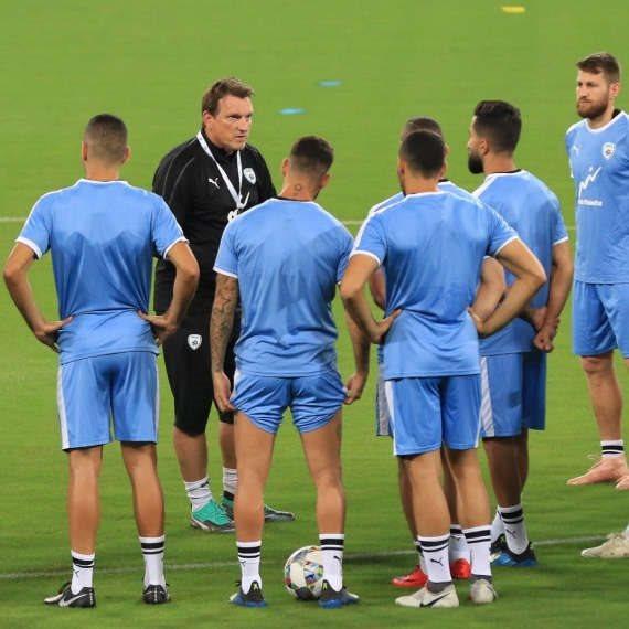 שחקני נבחרת ישראל (ארכיון)