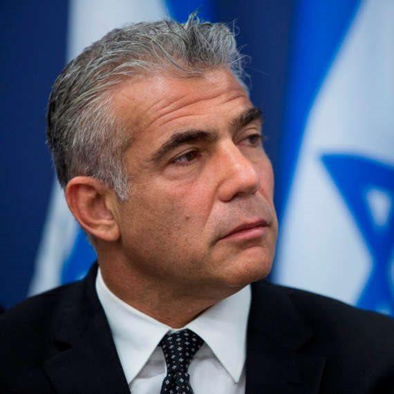 יאיר לפיד, שר החוץ