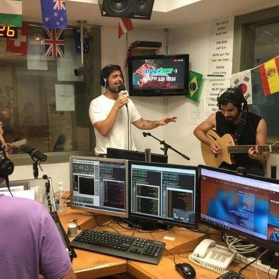 רותם כהן Live באולפן