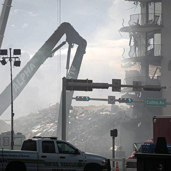 אסון קריסת הבניין בפלורידה