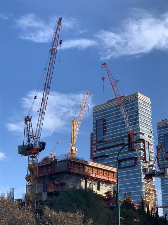 אתר בנייה, צילום ארכיון