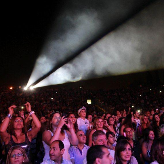 אילוסטרציה - פסטיבל מוזיקה בתל אביב