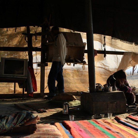 התיישבות בדואית בנגב - צילום ארכיון