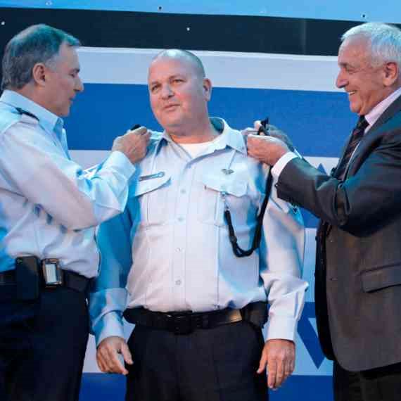 קצין המשטרה בדימוס אפרים ארליך