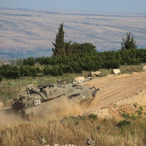 """כוח צה""""ל בגבול הצפון - צילום ארכיון"""