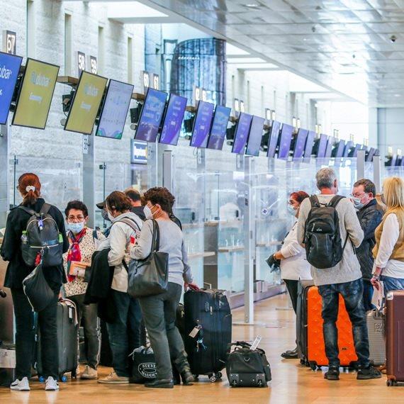 נמל התעופה בן גוריון בימי קורונה
