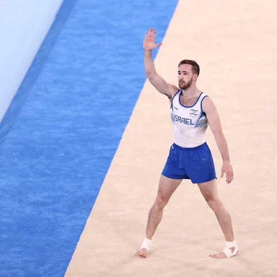 הזוכה הטרי במדליית הזהב, ארטיום דולגופיאט