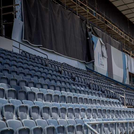 אצטדיון טדי בלי קהל