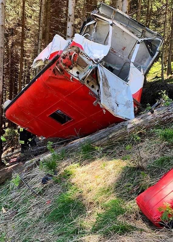 אסון הרכבל באיטליה