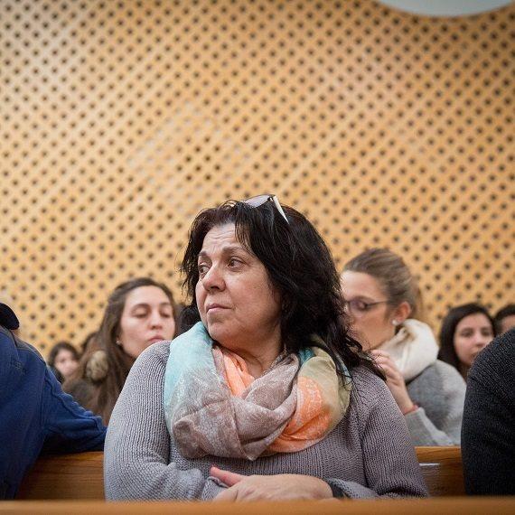 """אילנה ראדה, אמה של תאיר ראדה ז""""ל"""