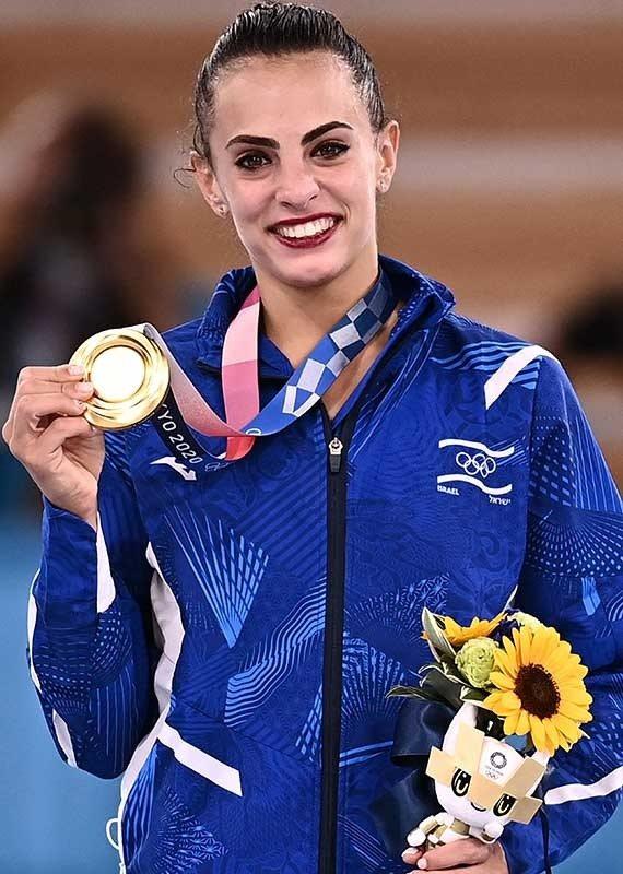 לינוי אשרם ומדליית הזהב, אולימפיאדת טוקיו