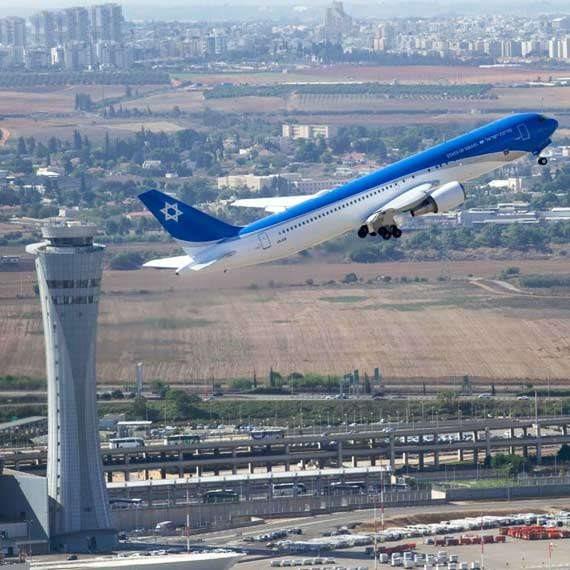 """מטוסו של רה""""מ - צילום ארכיון"""