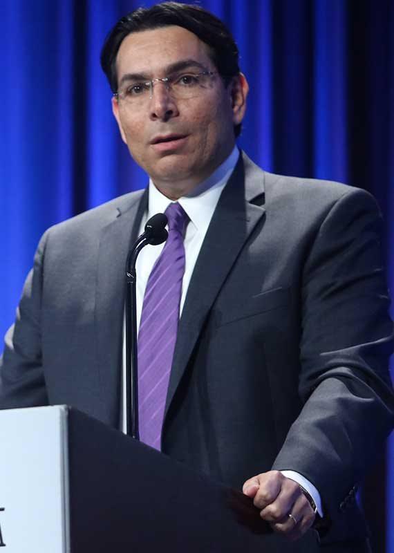 """דני דנון, שגריר ישראל באו""""ם לשעבר"""