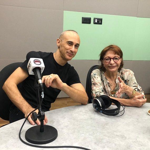 אסף אמדורסקי התארח באולפן של רבקה מיכאלי