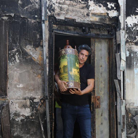 מהומות בלוד (ארכיון - למצולמים אין קשר לכתבה)