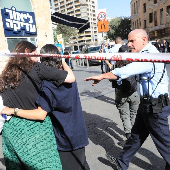זירת הפיגוע בירושלים, היום (ב')