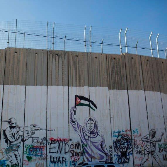"""מו""""מ עם הפלסטינים? גדר ההפרדה, למצולם אין קשר לנאמר"""