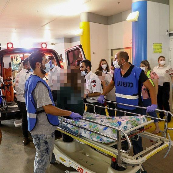 """הפצועים בתאונת הדרכים הקשה פונו לביה""""ח בנהריה"""