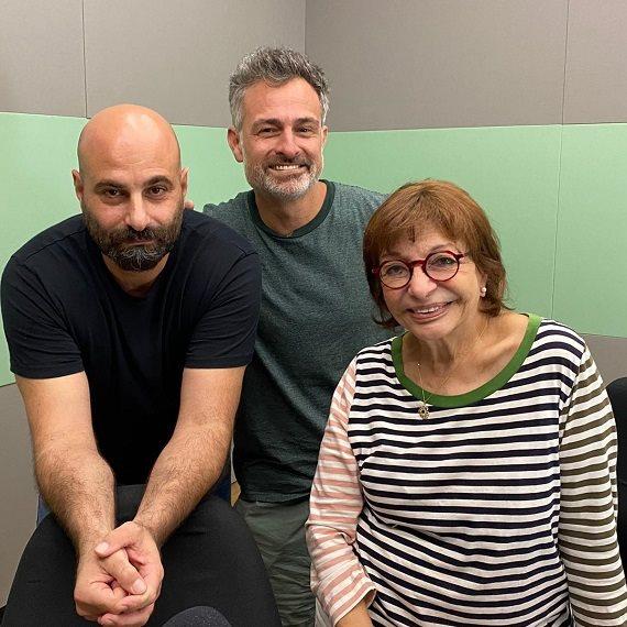 מאור כהן ואודי שרבני באולפן של רבקה מיכאלי