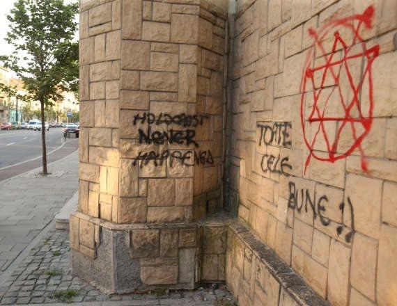 אנטישמיות באירופה. למצולם אין קשר לנאמר