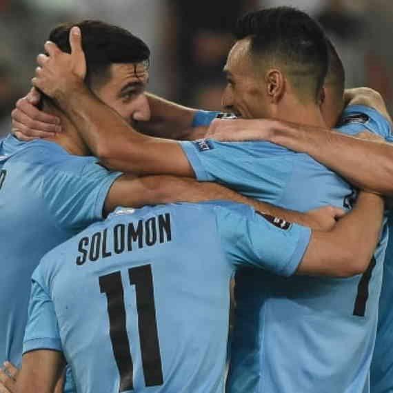 נבחרת ישראל במשחק מול מולדובה