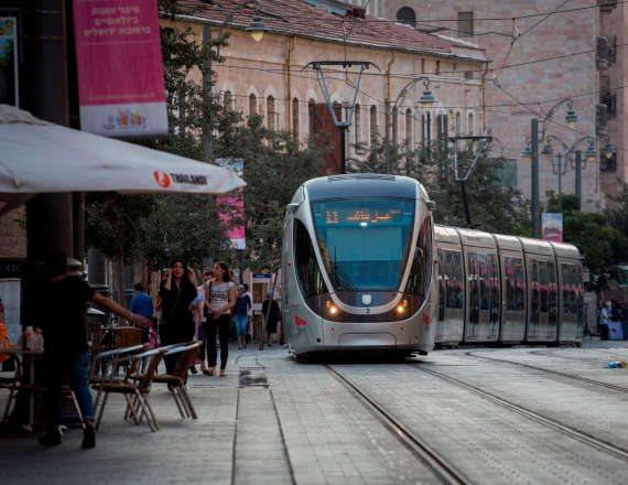 רכבת קלה - צילום ארכיון