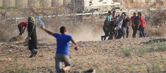 גבול ישראל־עזה, החודש // צילום: חסן ג'די/פלאש90