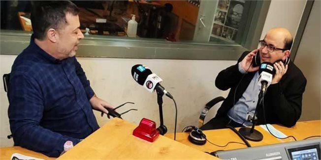 סמי אבו שחאדה ובן כספית באולפן 103fm